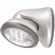 Fulcrum 20034-108 Porch Light 12 Led White