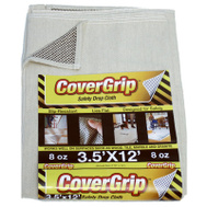 Covergrip 351208 Drop Cloth Noslip 3.5X12ft 8 Ounce