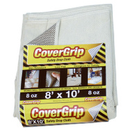 Covergrip 081008 Drop Cloth No-Slip 8X10ft 8 Ounce