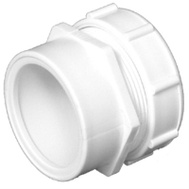 Charlotte Pipe PVC 00103P 0800HA 1-1/2 By 1-1/2 Male Adapter