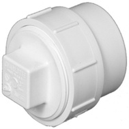 Charlotte Pipe PVC 00105X 1200HA 4 Inch Clean Out And Plug