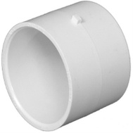 Charlotte Pipe PVC 00130  0800HA 2 Inch PVC Repair Coupling