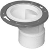 Charlotte Pipe PVC 00820  0600HA 4 By 3 Off Closet Flange