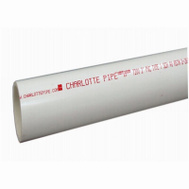 Charlotte Pipe PVC 07400 0200 Dwv Cut Pipe 4X2ft