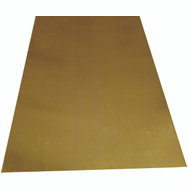K&S Engineering 251 Brass Sheet Metal 0.010 By 4 By 10 Inch