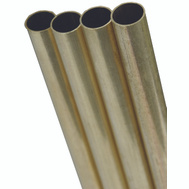 K&S Engineering 8144 21/32 By 12 Inch Round Brass Tube
