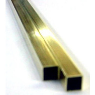 K&S Engineering 8155 1/4 Od Square Brass Tube