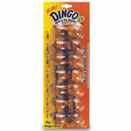 Spectrum 23830 Dingo Dingo Treat Mini Beef Bone 7Pk 7 Pack