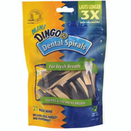 Spectrum DN-99158PDQ Dingo Dingo Dental Mini Spirals 21Pk 21 Pack