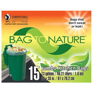 Indaco MBP24205 Kitchen Compost Bags 13 Gallon 15 Count