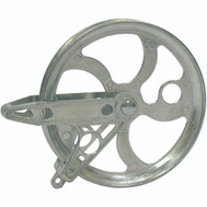 Ben Mor 90287 Strata 5.5 Inch Stand Metal Pulley