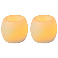 Sterno Home CG24101CR201 Van Hurrican Candle 2 Pack