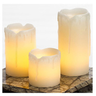 Sterno Home EXHBW19512CR Mini Pillar Candle 3 Pack