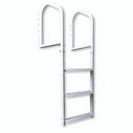 Multinautic 15503 Ladder Dock 3Step Steel White