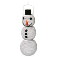 Woodstream SM00345 No No 15 Inch Snowman Bird Feeder 1-1/2 Pound Capacity