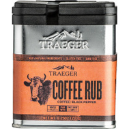 Traeger SPC172 Rub Coffee Bbq 8.25 Ounce