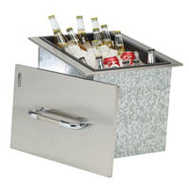 Bull Outdoor 00002 Ice Chest W/Cover-Drain