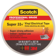 3M 06132 Scotch Vinyl Electrical Tape 3/4 Inch By 66 Foot Black