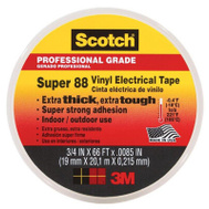 3M 6143-BA-100 Scotch Vinyl All Weather Electrical Tape 66 Foot
