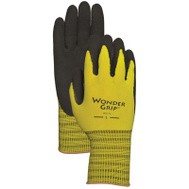 Radians WG310L Yellow Wonder Grip Latex Palm Gloves Large