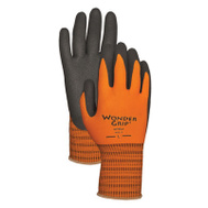 Radians WG510L Orange Wonder Grip Nitrile Palm Gloves Large