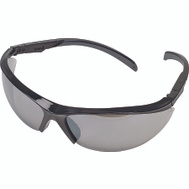 Safety Works 10083084 Essential Adjust Silver/Black Adjustable Safety Glasses Style 1142