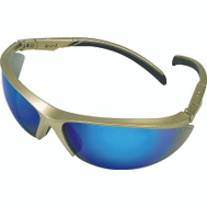 Safety Works 10083085 Essential Adjust Blue/Gold Adjustable Safety Glasses Style 1139