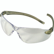 Safety Works 10083074/3090 Essential Euro Clear/Dark Blue Safety Glasses Style 1019
