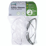 Safety Works 10091341-21 Clear And Gray High Impact Safety Glasses Value Pack Of 2 Pair