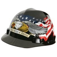 Safety Works 10124207 Hat Hard American Eagle V-Gard