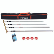 ZipWall SLP4 Barrier Dust/Mold System W/Bag