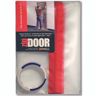 ZipWall ZDS Zipdoor Dust Containment Kit 3 By 7 Foot