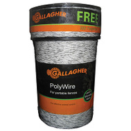 Gallagher G620300 1 320 Foot WHT Polywire