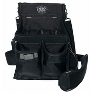 Maasdam HDP222496 Dead On Tools Heavy Duty Electricians Professional Pouch 18 Interior & 2 Exterior Pockets
