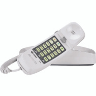 AT&T TL-210 WH White Telephone With Memory Lighted Keypad