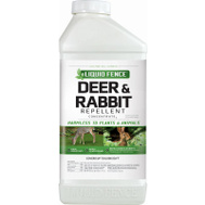Spectrum 71136-1 Liquid Fence Repell Deer/Rabbit Conc 40 Ounce
