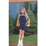 Playstar PS 7836 Gym Rings Children 120 Pound Capac