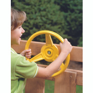 Playstar PS 7840 Wheel Steerng Play Station Yel