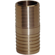 Water Source IC50NL 1/2 Inch Brass Insert Coupling
