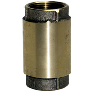 Water Source CV-125NL 1-1/4 Inch Brass Check Valve