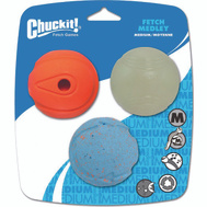 Petmate 520520 Ball Pet Fetch Medium 3Pk