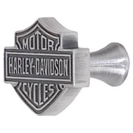 Ace HDL-10110 Harley Davidson Roadhouse Collection Bar And Shield Design Cabinet Knob Antique Pewter