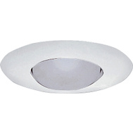 Cooper Lighting 301P Halo 6 Inch Recessed Light Fixture Trim Satin White