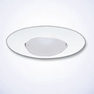 Cooper Lighting 300P Halo Recessed Light Fixture Trim White 6 Inch