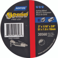 Norton 66243411396 Gemini 2 By 1/16 By 3/8 Metal Aluminum Oxide Type 1