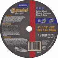 Norton 66243510655 Gemini 4 By 1/16 By 3/8 Metal Aluminum Oxide Type 1