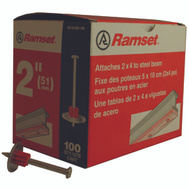 ITW Ramset 00806 2In Washered Pin (Box Of 100)