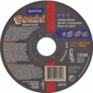 Norton 66252823602 Gemini 4-1/2 By.045 By 7/8 Metal Aluminum Oxide Type 1