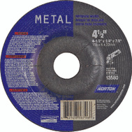 Norton 66252836796 4-1/2 By 1/4 By 7/8 Metal Aluminum Oxide Type 27