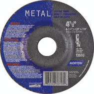 Norton 66252843611 4-1/2 By 1/8 By 7/8 Metal Aluminum Oxide Type 27